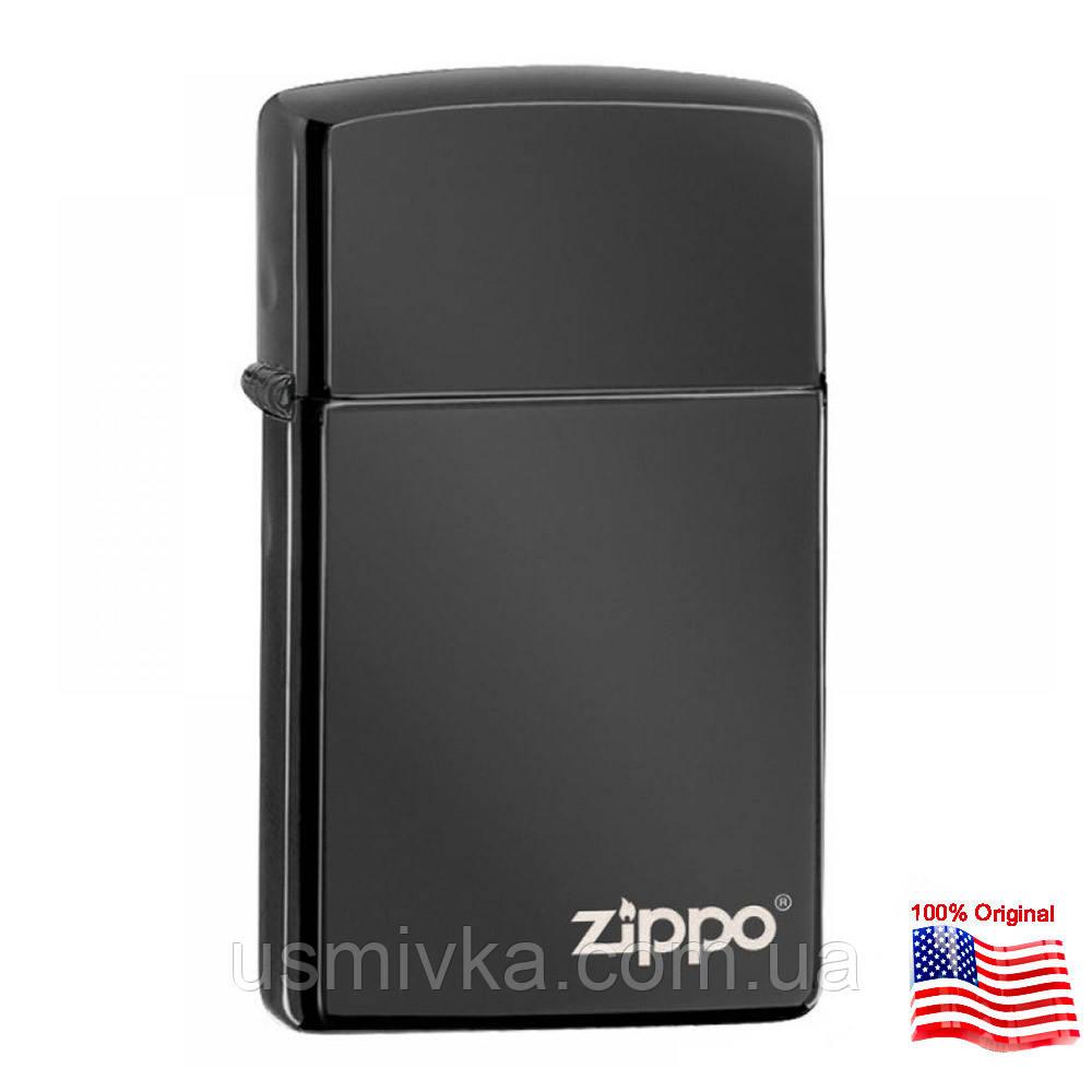 Зажигалка Zippo 28123ZL SLIM EBONY черная 281232612