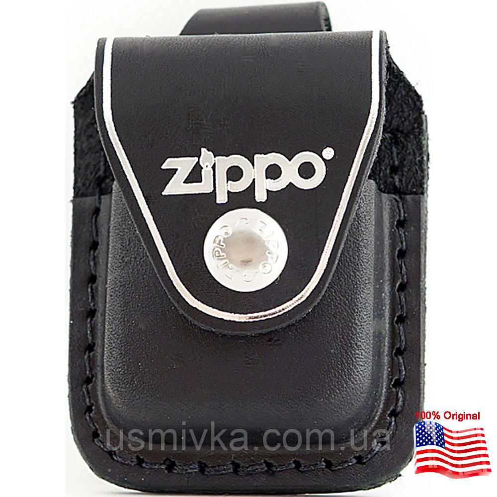 Чехол Zippo с петелькой черный 121613