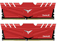 Модуль памяти DDR4 2Х8GB/3000 Team T-Force Dark Z Red (TDZRD416G3000HC16CDC01)