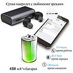 Беспроводные наушники Wi-pods G1 гарнитура Bluetooth 5.0  оригинал с кейсом Power Bank, фото 3