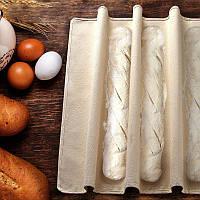 Пекарская ткань полотенце куши 45*75 для расстойки багетов, чиабатты, хлеба
