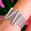Оригинальное женское серебряное кольцо, фото 3