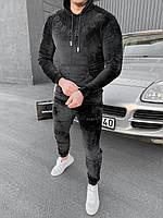 Спортивный костюм мужской DOBERMAN велюр брендовый копия реплика