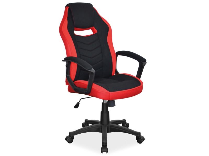 Крісло комп'ютерне CAMARO чорно-червоний (Signal)