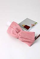 Повязки на голову - тюрбаны Повязка на голову Катрин розовая One size