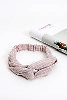 Повязки на голову - тюрбаны Повязка на голову Руби бежевая One size (P-2006)