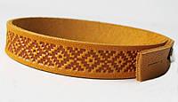 Кожаный браслет Вышиванка 1
