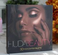 Палетка хайлайтеров Huda Beauty 3d Highlighter Palette GOLDEN SANDS