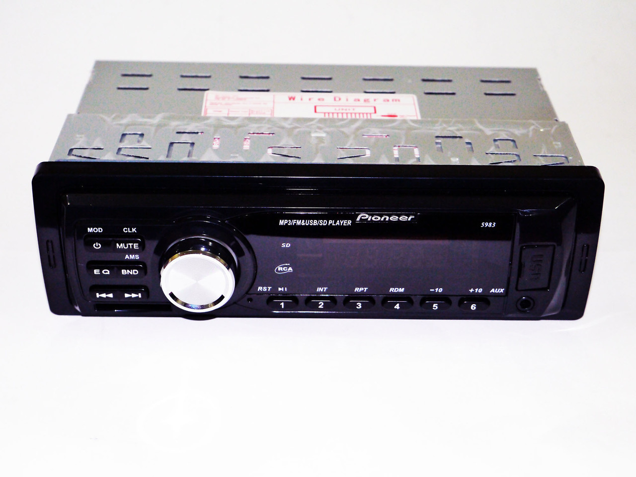 НЕДОРОГО Магнитола Pioneer 5983, USB MP3 Магнитола в авто, ЮСБ Магнитола в машину, Автомагнитола Пионер