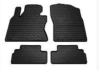 Резиновые автомобильные коврики в салон INFINITI Q50 2013 инфинити ку50 Stingray