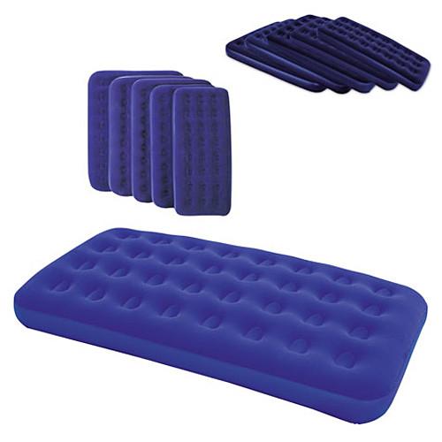Надувной велюр матрас-кровать BESTWAY 67001 синий