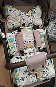 Универсальный матрас в коляску / автокресло / стульчик для кормления