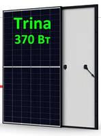 Солнечная панель 370Вт 24Вольт TSM-DE08М-370М 9ВB 120 Нalf Сell Trina Solar монокристалл