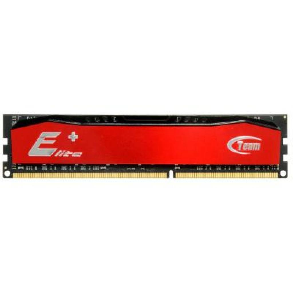 Модуль памяти для компьютера DDR4 8GB 2400 MHz Elite Plus Red Team (TPRD48G2400HC1601)