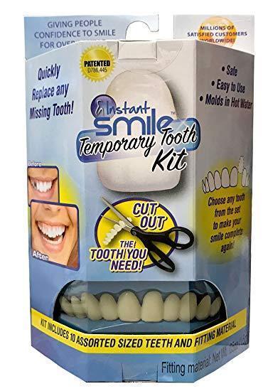 Белоснежные Виниры для Зубов Instant Smile temporary tooth Kit набор для зубов НЕДОРОГО