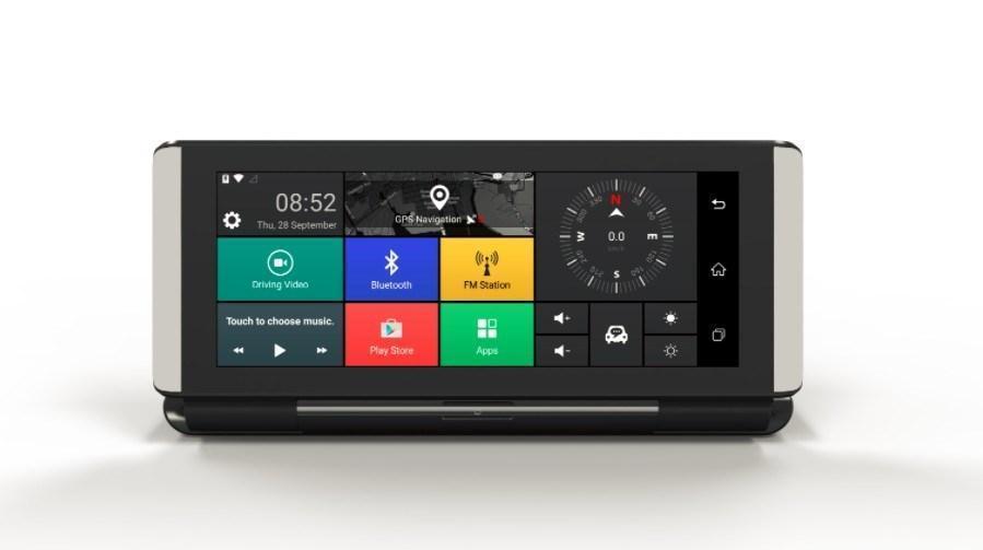 """Автопланшет навигатор  DVR 8620 4G Android GPS Видеорегистратор  HD1080p  7"""" 2"""