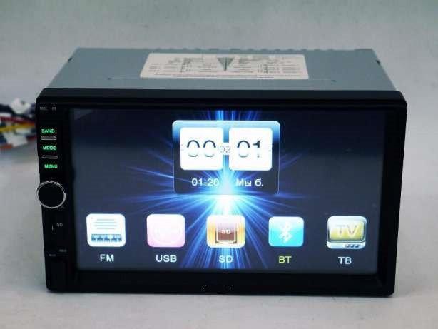 Магнитола для Автомобиля Pioneer 7018 2DIN USB БЕЗ ПРЕДОПЛАТЫ