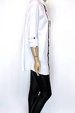 Жіноча сорочка-туніка з стразами Fendi, фото 2