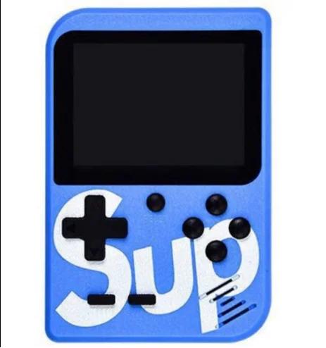 Приставка Денди Ретро 400 игр Retro FC Game Box Sup dendy 400in1 Синяя