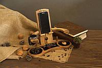 Деревянный Органайзер для Телефона «Трон»
