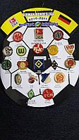 Набор значков German Bundesliga 2010-2011 г.