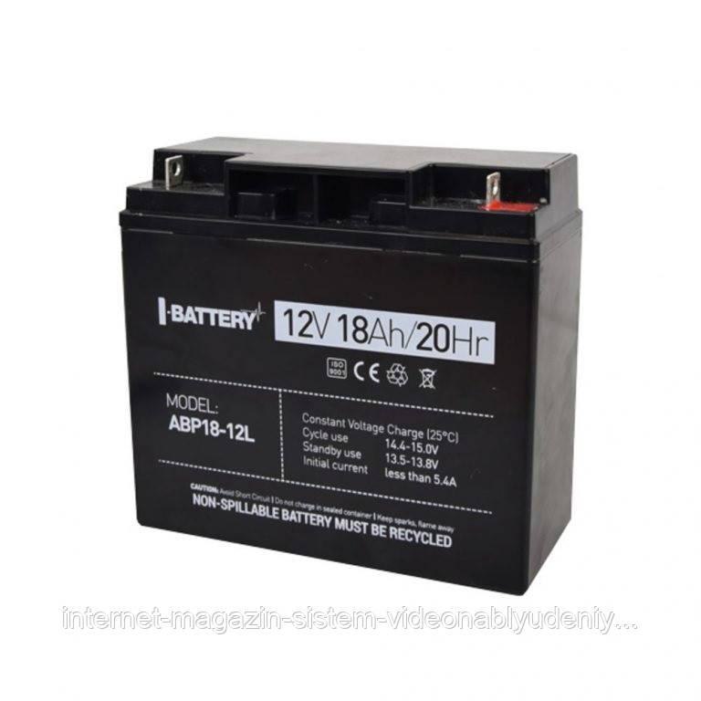 Аккумуляторная батарея I-Battery ABP18-12L