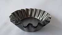 Кекс металлический порционный средний (упаковка 10 шт.)