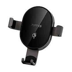 Автодержатель c функицей беспроводной зарядки 70Mai Wireless Charger Car Mount (MidrivePB01)