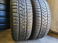 Зимние шины бу 215/60 R16 Pirelli