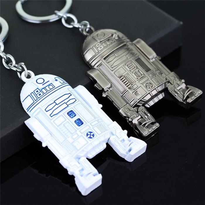 """Брелок """"Star Wars"""", металевий, супергерої, Брелок """"R2-D2 Робот"""""""