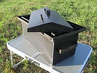 Коптильни для горячего копчения с гидрозатвором