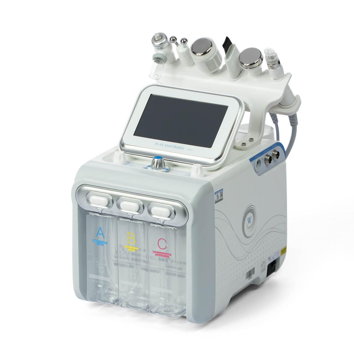 Апарат аквапиллинга і гидропилинга 7 в 1 NV-W05X+мезотерапія+RF+скрабер