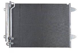 Радиатор кондиционера Volkswagen Passat B7 2.0TDI 2010- NRF 35614