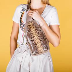 Жіночий шкіряний незвичайний рюкзак . Колір будь-який