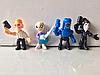 Набор мини-фигурок (4,5 см) Бравл Старс (4 шт)