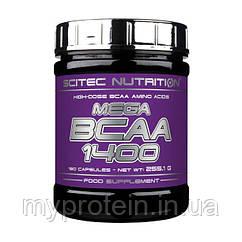Scitec Nutrition Бца Mega BCAA 1400 (180 caps)
