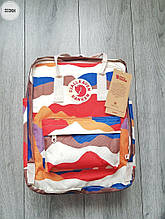 Рюкзак шведської марки Kanken Fjallraven (різнокольоровий) 333KN