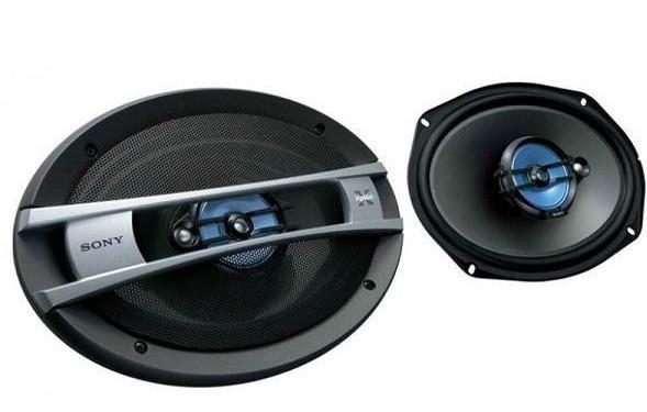 Овалы в автомобиль Sony XS-GTF6926 мощность 600W Динамики Овалы Сони