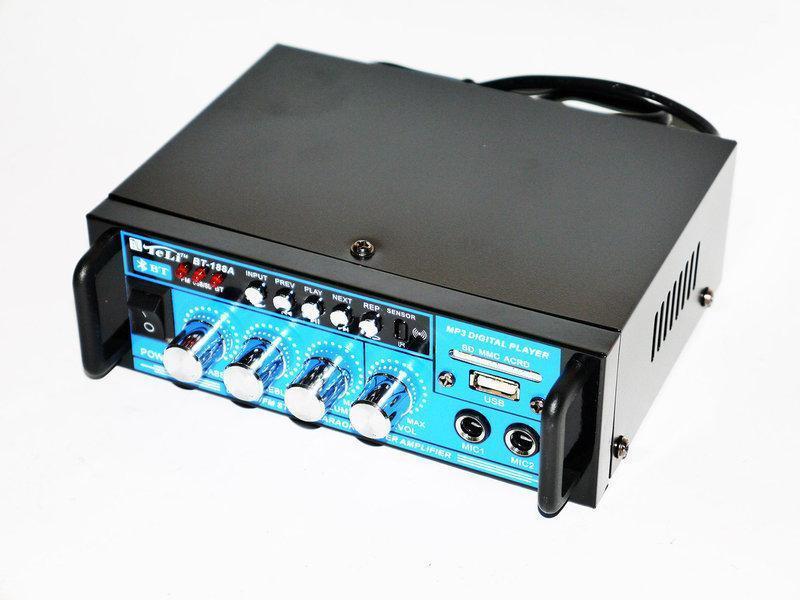 Усилитель Звука BT-188A Bluetooth Стерео + Караоке