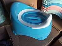 Горшок детский с крышкой Comfort Турция 11103 синий, фото 1