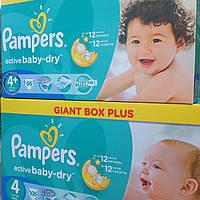 Памперсы для детей PAMPERS ACTIV BABY 4+ 96шт. Giant Box Plus