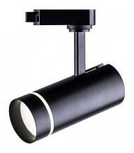 Трековый светодиодный светильник Feron AL106 18W черный