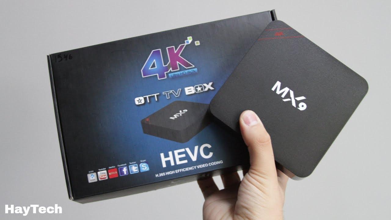 ТВ Смарт приставка Android TV BOX MX9 4K