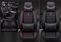 Модельные чехлы Buick на передние и задние сиденья автомобиля Hyundai Santa Fe + подушки