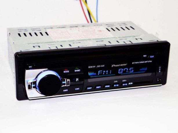 Магнитола Pioneer Jsd 520 MP3  Bluetooth