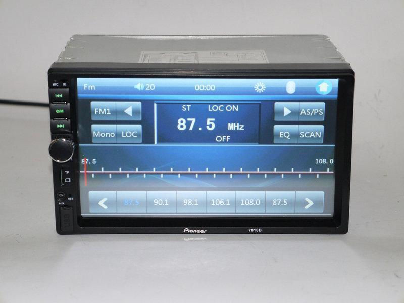Автомагнитола 2Din Pioneer 7018 7'Экран Магнитола USB+Bluetoth+Камера