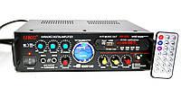 Підсилювач звуку UKC AV-339A + USB + караоке
