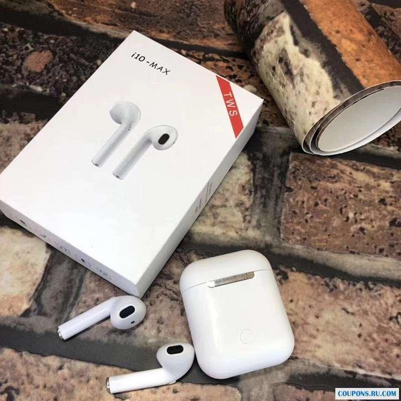 Bluetooth наушники  TWS i10 MAX Белые