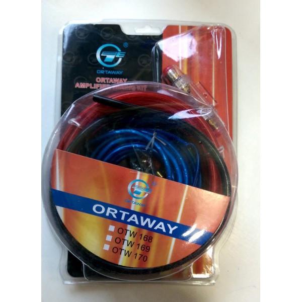 Комплект кабелей для Подключение Автозвука OTW 168 MAX 1200 WATTS
