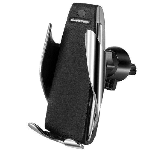 Стильный держатель для телефона Smart Sensor Car Wireless Charger S5